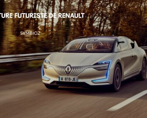 Découvrir les particularités du Symbioz Demo Car de Renault