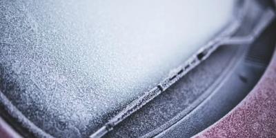 Faites attention au froid avec votre pare-brise !