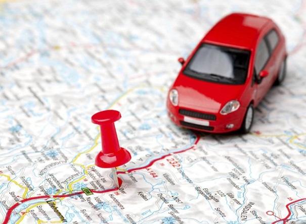 map et voiture