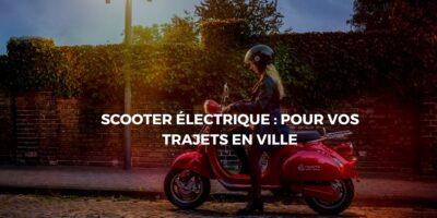 Faut-il privilégier un scooter électrique au lieu d'une voiture?