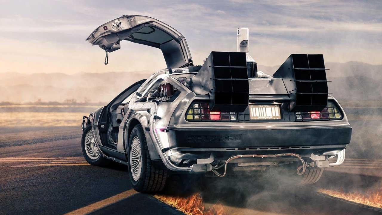 voiture DeLorean