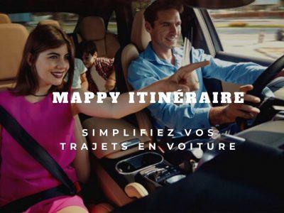 Le GPS Mappy Itinéraire, trucs et astuces pour l'utiliser